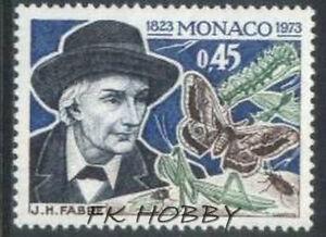 Monaco 1973 Mi 1079 ** J H Fabre Butterfly Schmetterling Papillon Mariposa Motyl - Dabrowa, Polska - Monaco 1973 Mi 1079 ** J H Fabre Butterfly Schmetterling Papillon Mariposa Motyl - Dabrowa, Polska