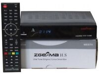 Zgemma H.S Single Tuner With 12 Month Subscription