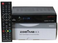 Zgemma H.S Single Tuner With 12 Month Subscription PLUG & PLAY