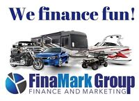 FinaMark Group can get you financed! Better than the banks!