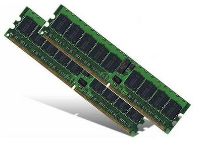 2x 4GB 8GB DDR2 RAM Speicher Tyan Tiger i7520SD (S5365) ECC Registered PC2-3200R ()