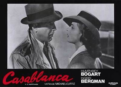 CASABLANCA Movie POSTER 11x14 G Humphrey Bogart Ingrid Bergman Paul Henreid