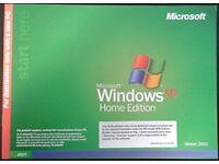 Windows XP HOME Disc and manua