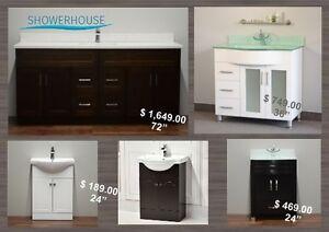 Bathroom Vanities, Handcrafted Vanities-many sizes from $ 189.00