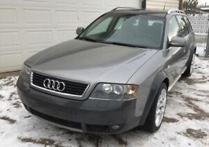 Fully loaded and serviced Audi all road Quattro all wheel drive