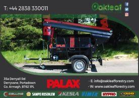 Road Tow Firewood Processor - Palax D270