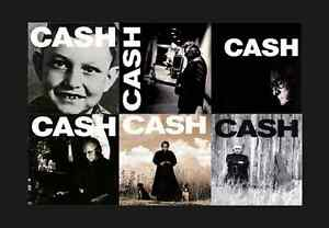 JOHNNY-CASH-AMERICAN-RECORDINGS-6x-LP-180g-HEAVY-VINYL-Lot-I-II-III-IV-V-VI-NEW