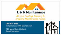 Leaky roof? Missing Shingles? We can help