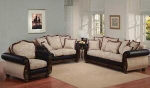 CANADIAN MADE SOFAS ON SALE (ND 133)