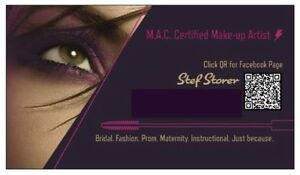 CERTIFIED M.A.C. MAKE-UP ARTIST ($40 PER PERSON) Kitchener / Waterloo Kitchener Area image 1