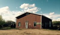 For Sale: Saskatchewan commercial building +land