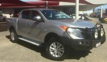 2012 Mazda BT-50 UP0YF1 TURBO XTR Silver Automatic Dual Cab Mackay Mackay City Preview