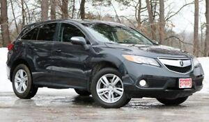 2015 Acura RDX AWD|Sunroof|Leather|Heated Fnt Seats|Bluetooth
