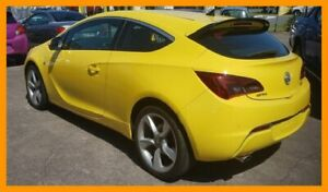 2015 Holden Astra PJ MY16 GTC Yellow 6 Speed Automatic Hatchback Hillcrest Logan Area Preview