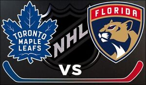 Maple Leafs VS Florida Panthers Thurs Dec 20th