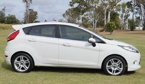 2011 Ford Fiesta WT Zetec White 5 Speed Manual Hatchback Bundaberg West Bundaberg City Preview