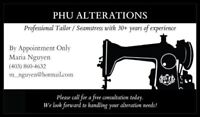 Alteration Services - Appointments Only