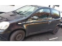 Toyota Yaris N/S Front Wing In Black (2005)