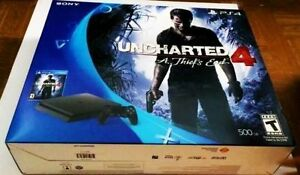 Sony PS4 Uncharted 4 500 GB Slim Edition (9 games bundle)