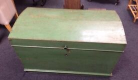 Victorian blanket box chest large