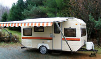 Location roulotte pour chasseur ou camping sauvage