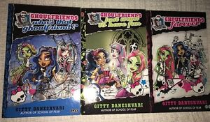 X3 MONSTER HIGH GHOULFRIENDS BOOKS Pagewood Botany Bay Area Preview