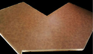 Laminate countertop with 90degree angle, $5