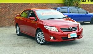 2008 Toyota Corolla ZRE152R Conquest Red 4 Speed Automatic Sedan Upper Ferntree Gully Knox Area Preview