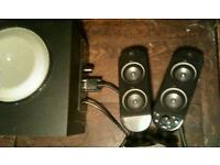 Pc stereo speakers set