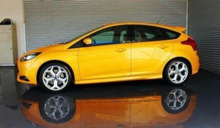 2013 Ford Focus LW MKII ST Tangerine Scream 6 Speed Manual Hatchback Parramatta Park Cairns City Preview