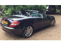 Mercedes 200SLK covertible low mileage