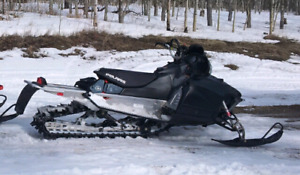 Reporting two sleds and trailer stolen