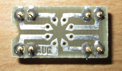 To99 Can-8 Op Amp To Dip 16 Pin Socket Adapter Pcb