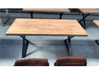 Acacia Wood Dining Table, Without chairs