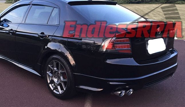 ACURA TL PERFORMANCE Catback Exhaust System Quad Tips EndLess - Acura tl exhaust