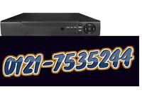 hd/ahd 16 channel dvr compatible with all cctv cameras 1080p with 4tb memory