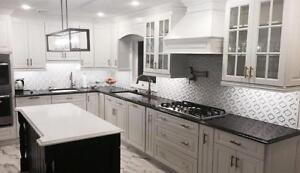 Completely Custom Kitchen Renovations for the price of IKEA.  We manufacture Quality Custom Kitchens For IKEA PRICES!