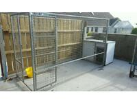 12x4ft dog cage with indestructible kennel