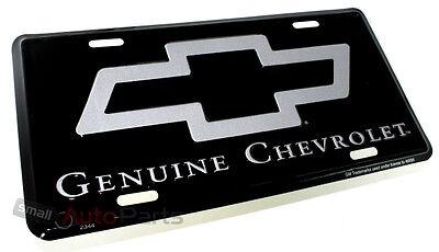 NEW!!! GENUINE CHEVROLET LICENSE PLATE ALUMINUM STAMPED METAL AUTO/CAR/TRUCK - Aluminum Auto License Plate