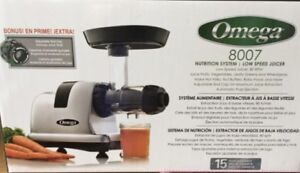 Extracteur a jus Omega 8007 / Omega Juicer 8007 cold pressed