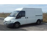 Man and van service collections, deliveries and removals