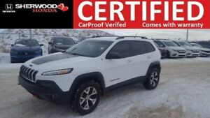 2015 Jeep Cherokee Trailhawk 4X4 | LOADED | LIFTGATE | REMOTE ST