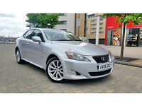 Silver Lexus Is 220d se Diesel Beige Leathers Sat Nav keyless go start/stop press button start