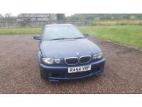 BMW 3 Series 2.0 L Petrol Blue M Sport trim 2004 318ci