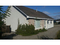 3 Bedroom detached Villa in good residential area of Inverness, with garden and garage