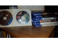 8 PS4 Games Bundle - Batman/Uncharted4/BF1/SWBF/Destiny2/ESO/7 days to die