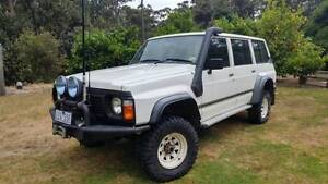 1989 Nissan Patrol 4.2L Petrol/Gas Carby Auto Sarsfield East Gippsland Preview