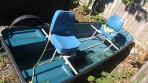 11 ft Coleman Ram-X Crawdad Boat - Excellent Condition