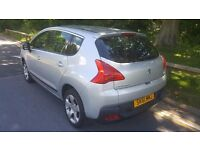 2011 PEUGEOT 3008 SPORT HDI S-A SILVER