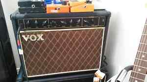VOX VR 30 Amp and assortment of pedals
